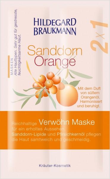 Sanddorn Orange Verwöhn Maske 14ml