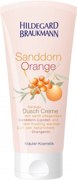 Sanddorn Orange Creme Dusche 200 ml