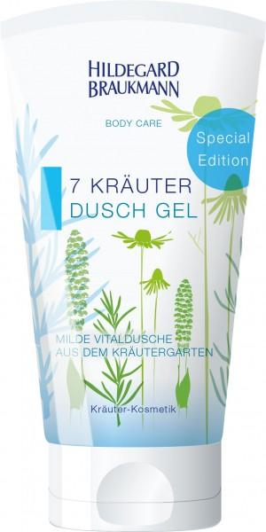 BODY CARE 7 Kräuter Dusch Gel 150 ml SG