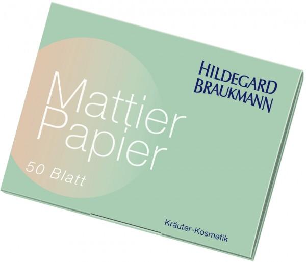 Mattier Papier 50 Blatt