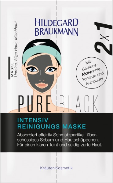 PURE BLACK Intensiv Reinigungs Maske 14ml